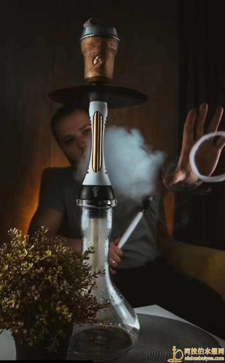 网红水烟壶阿帕奇二代单嘴阿拉伯水烟壶