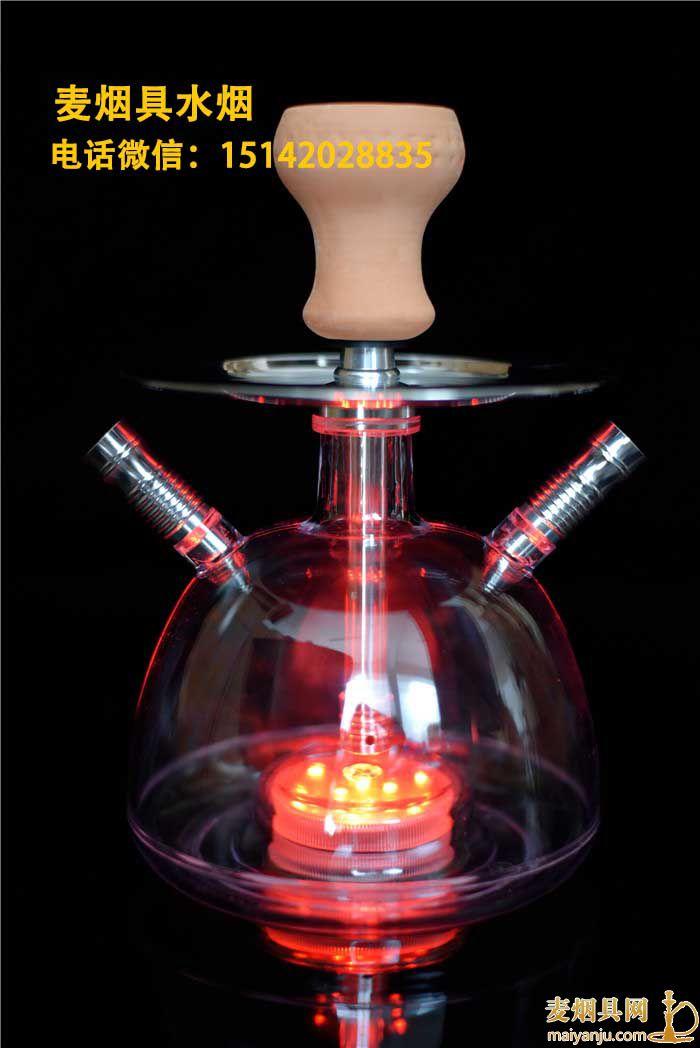 小号亚克力泡泡壶圆度阿拉伯水烟壶组装步骤图解