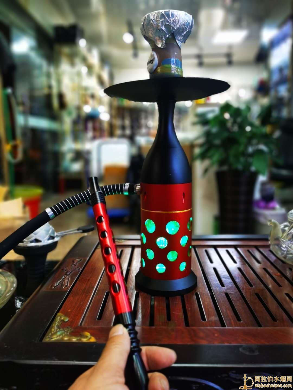 保龄球水烟壶单嘴水烟壶40厘米左右高
