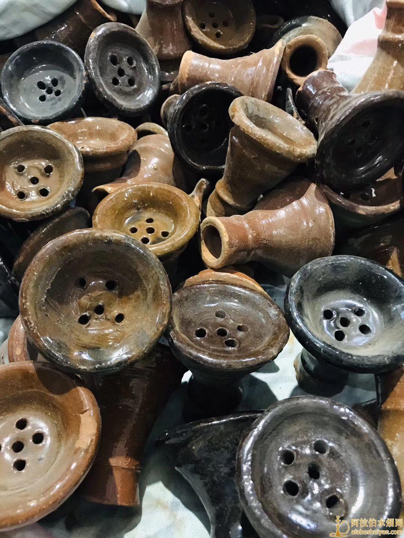 埃及进口水烟陶瓷烟锅图片价格批发多少钱