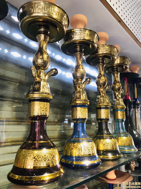 中号埃及壶高度58cm进口阿拉伯水烟壶图片价格批发多少钱