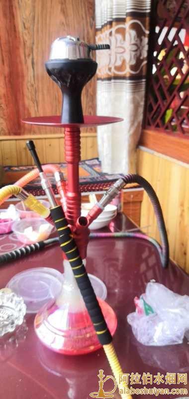 中号四嘴铝合金阿拉伯水烟壶图片价格哪里有卖水烟壶