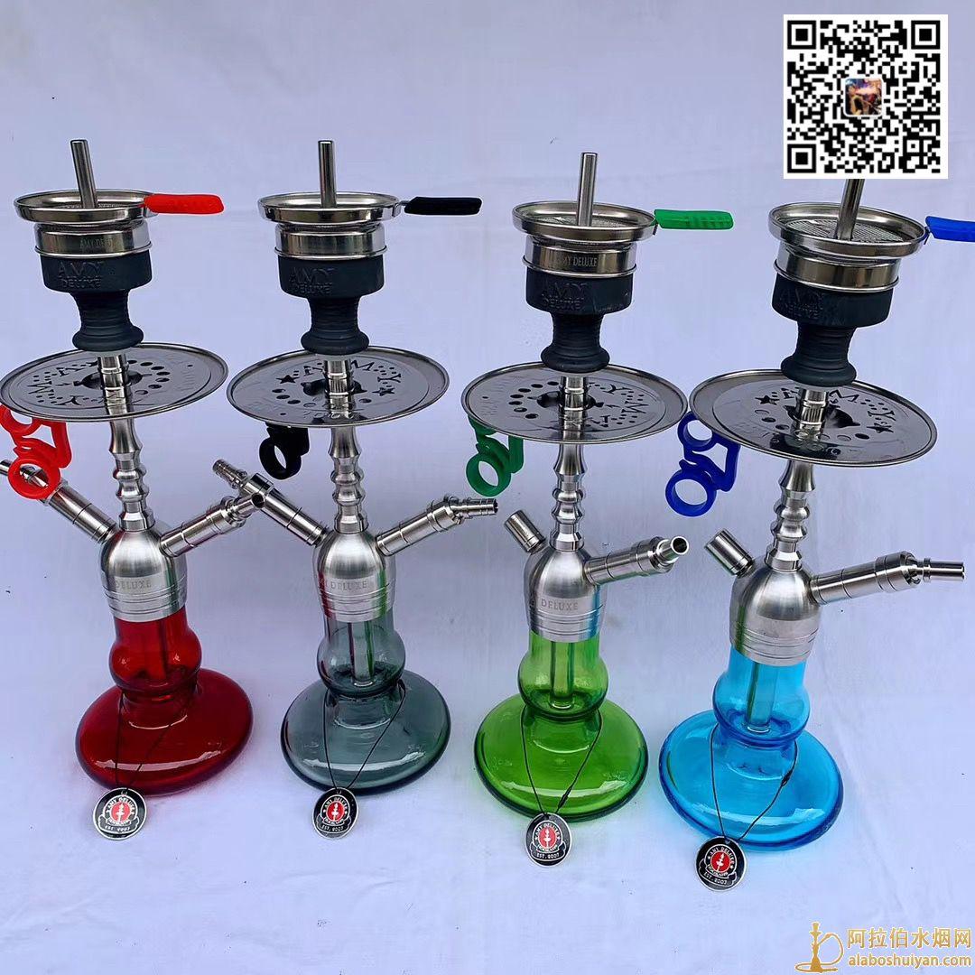 AMY DELUXE HOOKAH Amy阿拉伯水烟壶 不锈钢 图片价格