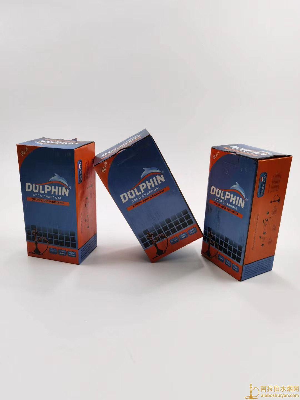 DOLPHIN海豚品牌椰壳炭多少钱一盒 一件多少盒 批发价格