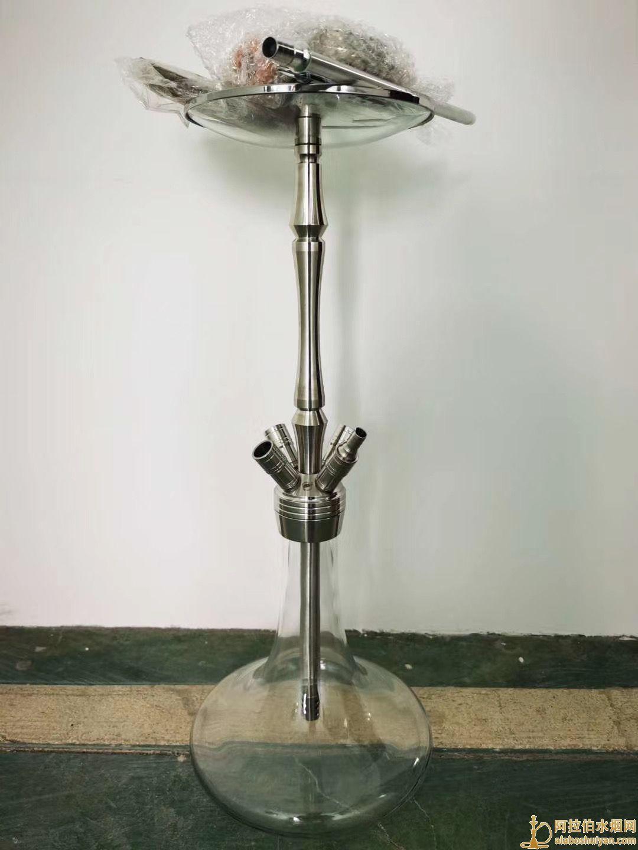 新款不锈钢阿拉伯水烟壶65-68厘米200套现货