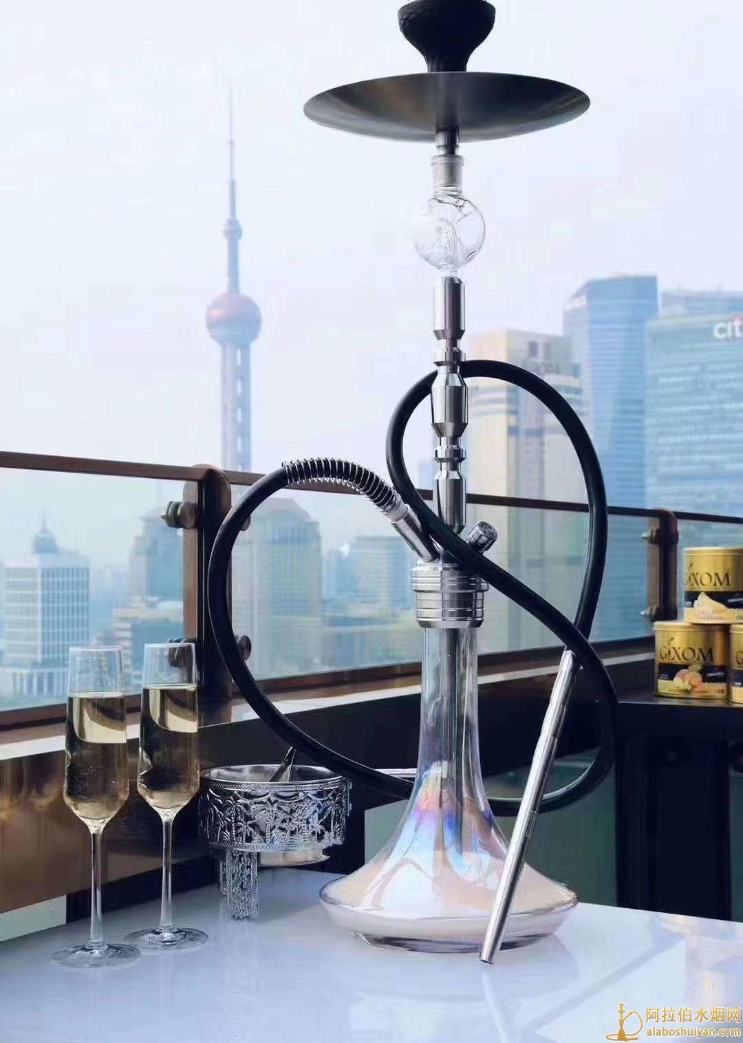 高度80公分以上的不锈钢大号阿拉伯水烟壶MIG3.0