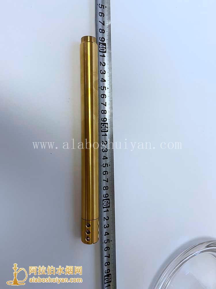 新款mig g36不锈钢大号四嘴壶金色阿拉伯水烟