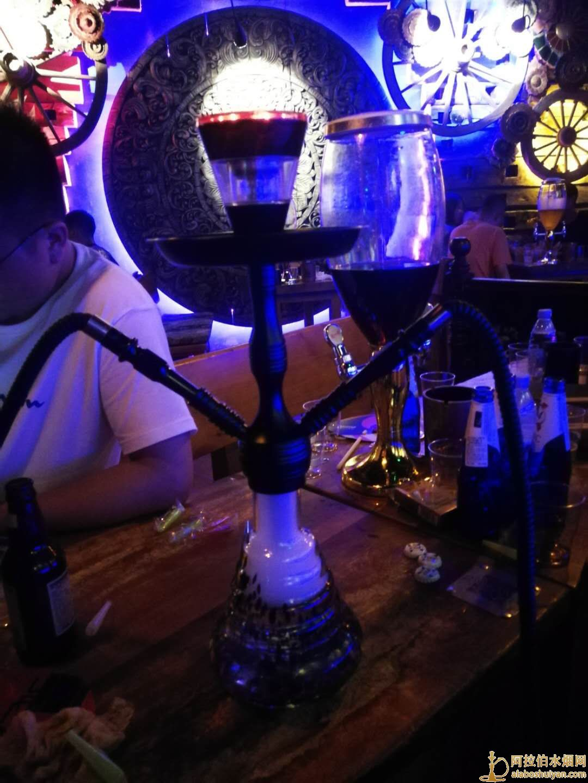 酒吧中号双嘴无名火不用炭火阿拉伯水烟壶