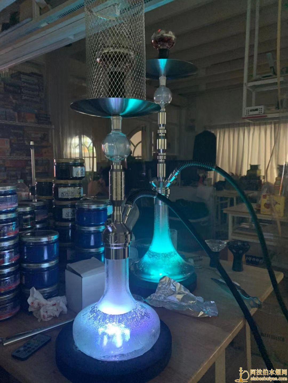 阿拉伯水烟底座灯盘小号大号价格是多少led水烟灯盘
