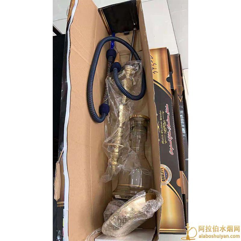 阿拉伯水烟 羊皮管水烟配件阿拉伯水烟全套埃及纯铜水烟壶