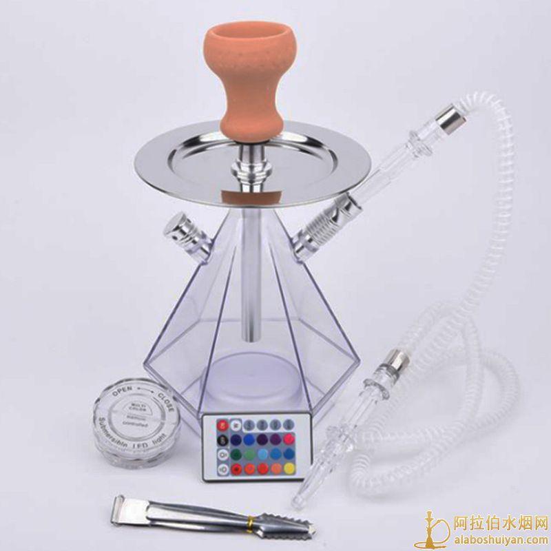 阿拉伯水烟烟壶套装 钻石亚克力水烟壶