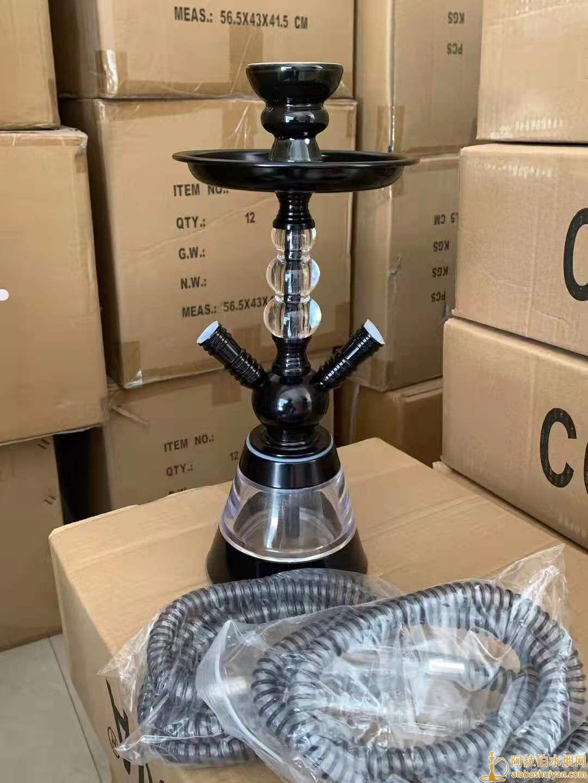阿拉伯水烟烟壶套装shisha 三个球亚克力双管水烟壶 Hookah跨境