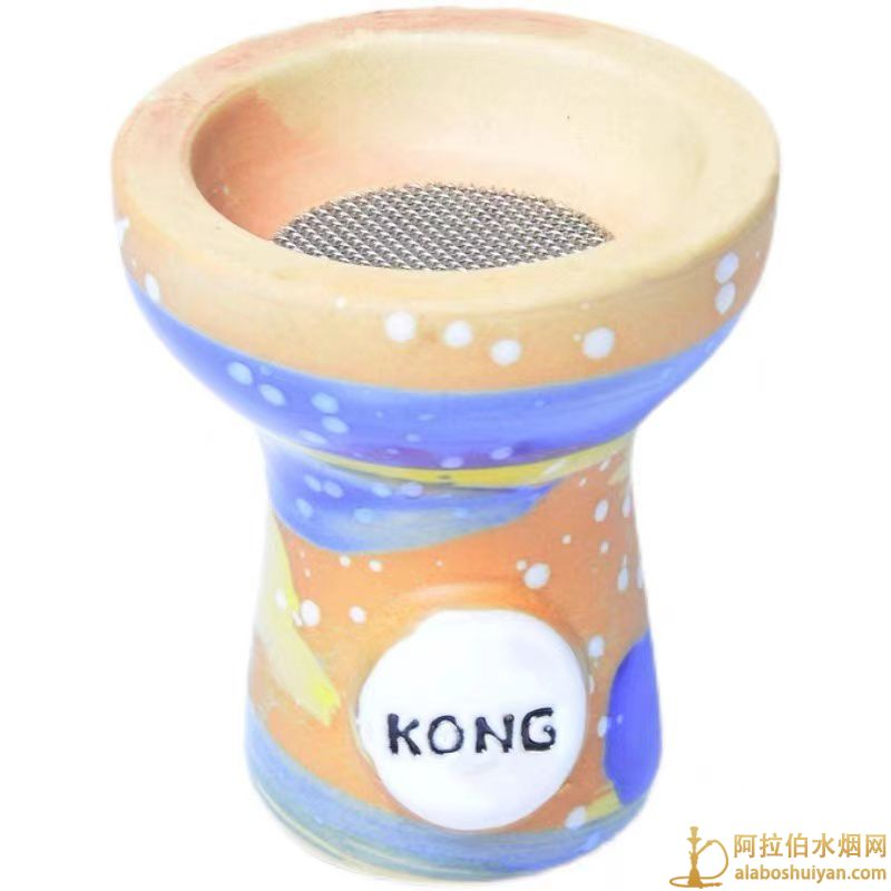 手工通用水烟陶瓷碗阿拉伯水烟锅高档hookah shisha